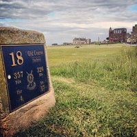 Photo taken at The Old Course St Andrews by Mike M. on 6/14/2013