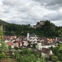 Photo taken at Pottenstein by Bojana on 5/25/2017