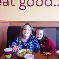 Photo taken at Salata by Ashley A. on 11/1/2014