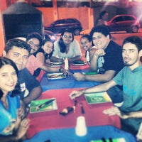 Photo taken at Ferreira's Mil Pizzaria by Elson N. on 11/10/2013