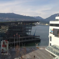 Photo taken at The Fairmont Waterfront by Michael M. on 5/1/2013