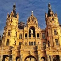 Photo taken at Schweriner Schloss by Franz K. on 4/27/2013