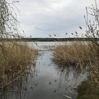 Photo taken at Салтовское Водохранилище by Katherina R. on 4/16/2017