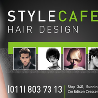 Photo taken at Style Cafe Hair Design by Style Cafe Hair Design on 8/14/2013
