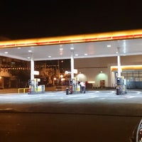 Photo taken at Shell by Gustavo P. on 2/4/2014