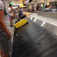 Photo taken at Baggage Belts by Jeffrey de R. on 7/23/2013