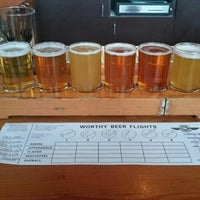 Photo taken at Worthy Brewing Company by Johan W. on 3/5/2016