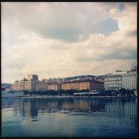 Photo taken at Rijeka Harbour by Daniel J. on 7/19/2013