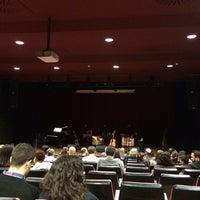Photo taken at Auditori Barradas by David Q. on 11/4/2014