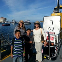 Photo taken at Catalina Semi-submersible Undersea Tour by German C. on 1/27/2014