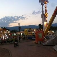 Photo taken at Akçay Lunapark by Halim Ö. on 8/17/2013
