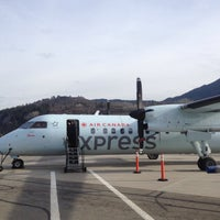 Photo taken at West Kootenay Regional Airport by Paul K. on 3/5/2015