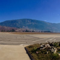 Photo taken at West Kootenay Regional Airport by Paul K. on 3/8/2015