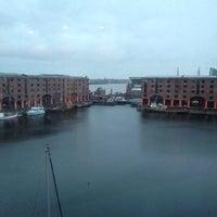 Photo taken at Premier Inn Liverpool Albert Dock by Debbie H. on 3/2/2014