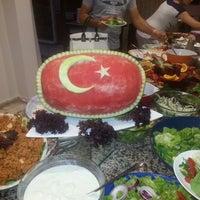 Photo taken at Alinda Beach Hotel Marmaris by Şahin K. on 8/30/2013