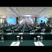 Photo taken at Isyana Ballroom by Bintang P. on 9/11/2014