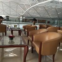 Photo taken at Emirates Lounge by AbdulmohsiN on 1/22/2015