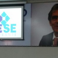 Photo taken at Auditório Ministro Carlos Augusto Ayres de Freitas Britto by William T. on 5/26/2014