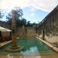 Photo taken at Hacienda Uayamon, a Luxury Collection Hotel, Uayamon by Johanna E. on 7/2/2017