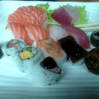 Photo taken at Hakka Sushi by Patrícia R. on 4/7/2013