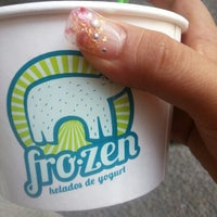 Photo taken at Yummy Frozen Yogurt by Itzelinn M. on 5/10/2014