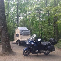 Photo taken at Linville Falls Campground by John B. on 5/12/2014