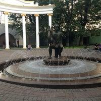 "Photo taken at Фонтан ""Апполон"" by Inna K. on 8/15/2013"
