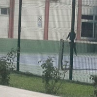 Photo taken at DSİ Tenis Kortları by Vildan Y. on 11/22/2016