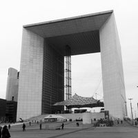 Photo taken at Grande Arche de la Défense by Michele V. on 4/30/2013