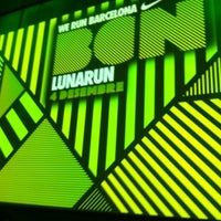 Photo taken at LunaRun Nike by Andrea G. on 12/4/2012