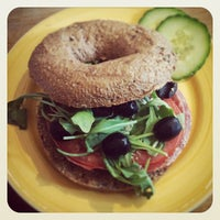 Photo taken at Bagels and Beans by Ludo G. on 1/3/2014