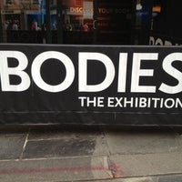 Photo taken at BODIES...The Exhibition by Judy T. on 10/27/2012