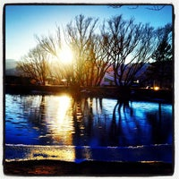 Photo taken at Pond At Briargate Business Campus by Matt D. on 11/26/2013