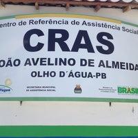 Photo taken at CRAS João Avelino de Almeida by Marcelo A. on 8/20/2013