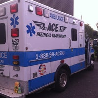 Photo taken at Ace Medical Transport by Rizzo on 8/10/2013