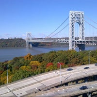Photo taken at George Washington Bridge by Tim J. on 10/21/2012