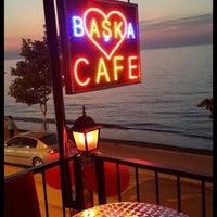 Photo taken at Baska cafe by M.Alev 1. on 8/8/2013