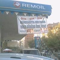 Photo taken at Remoil Inş.makina.ith.ihr.san.tic.ltd.şti Petrol Ofisi by Soykan A. on 8/28/2013