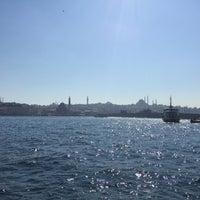 Photo taken at Salıpazarı Limanı - İstanbul by Arif K. on 4/13/2016