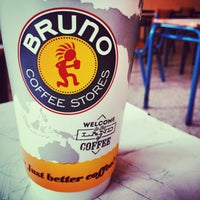 Photo taken at Bruno Coffee Stores by Ntinos S. on 3/18/2015