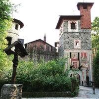 Photo taken at Borgo Medievale by masorhu on 6/7/2015