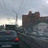 Photo taken at Парковка под мостом by Маня К. on 3/22/2014