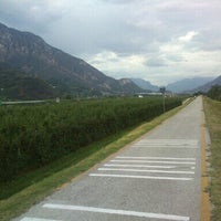 Photo taken at Pista Ciclabile Mattarello by Bogdan P. on 8/27/2013