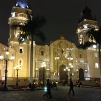 Photo taken at Plaza Mayor de Lima by Nubia I. on 10/5/2012