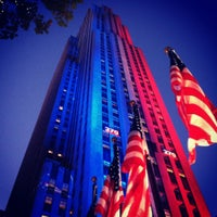 Photo taken at 30 Rockefeller Plaza by Brandon M. on 11/6/2012