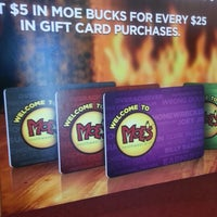 Photo taken at Moe's Southwest Grill by Cari W. on 12/19/2012