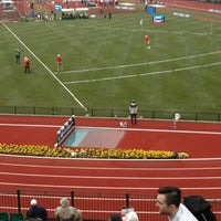 Photo taken at Hayward Field by Nate B. on 7/8/2016