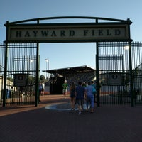 Photo taken at Hayward Field by Nate B. on 5/27/2017