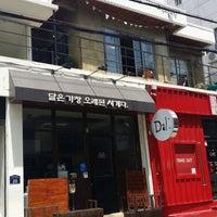 Photo taken at 전포 카페거리 by Jiny I. on 5/17/2014