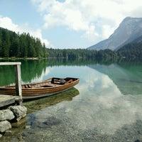 Photo taken at Lago di Tovel by Roberto O. on 8/20/2016